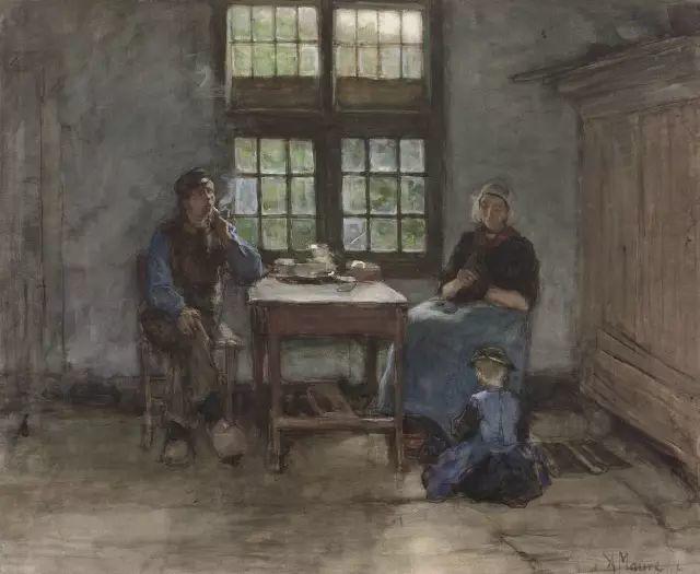 梵高表妹夫——安东·莫夫油画作品欣赏插图10