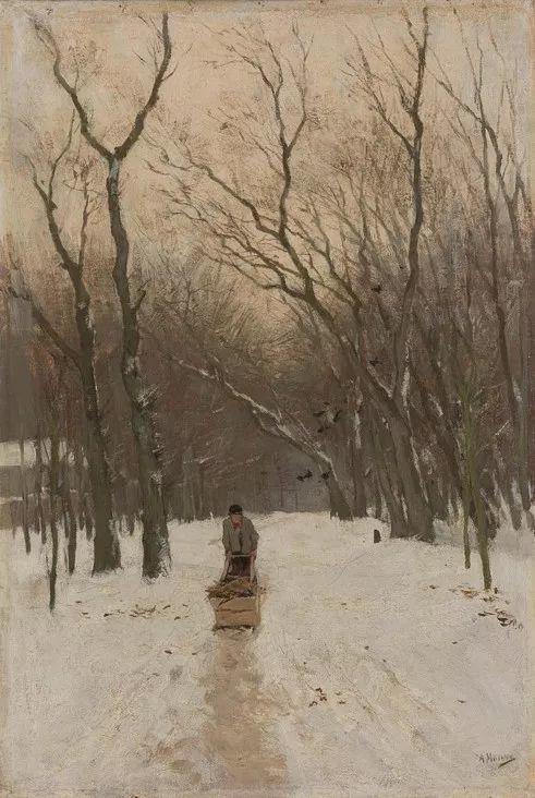 梵高表妹夫——安东·莫夫油画作品欣赏插图13