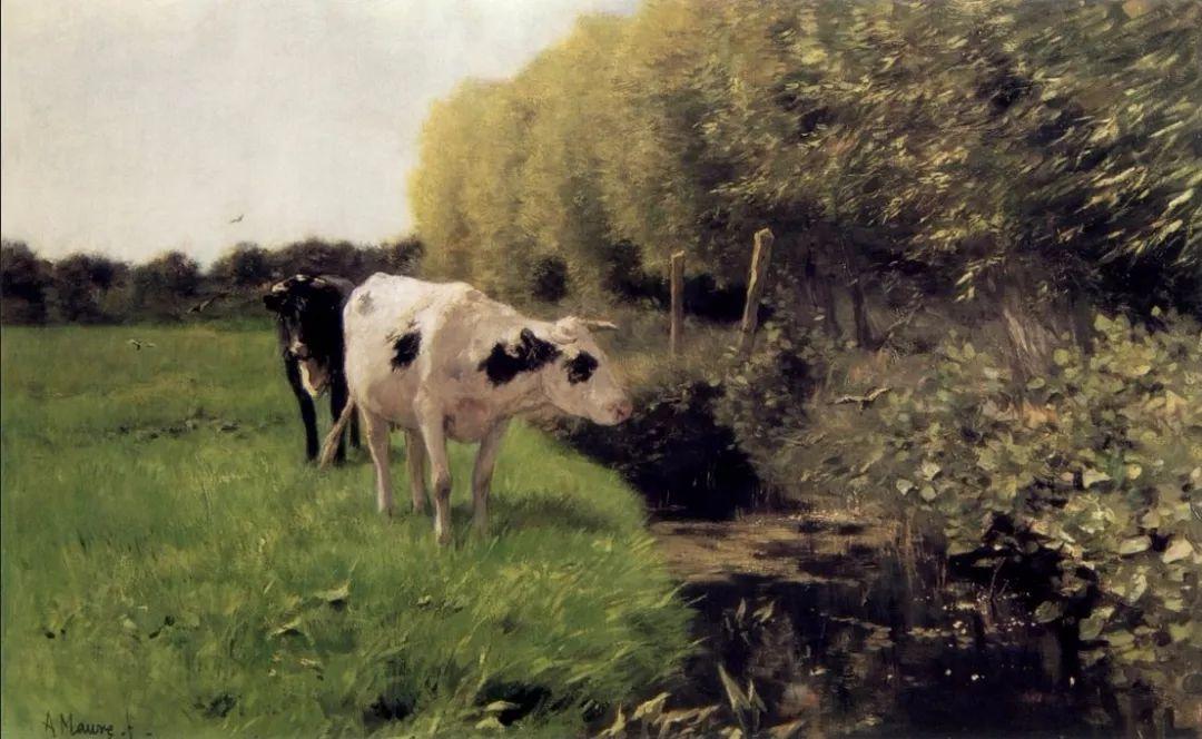 梵高表妹夫——安东·莫夫油画作品欣赏插图20