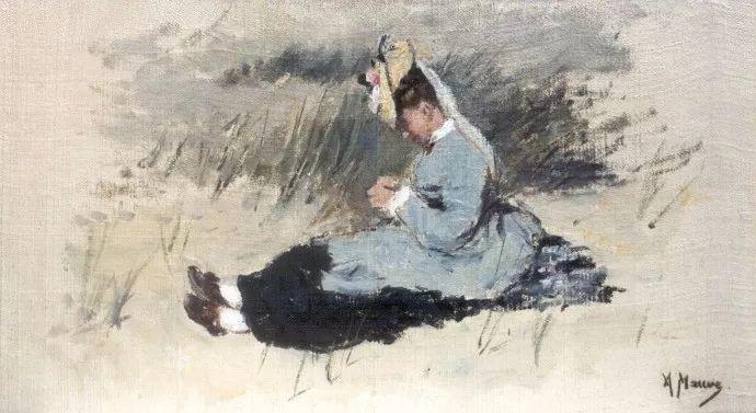 梵高表妹夫——安东·莫夫油画作品欣赏插图25