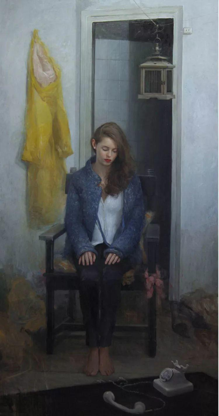 西班牙现代艺术家Jordi Diaz Alama油画欣赏插图5