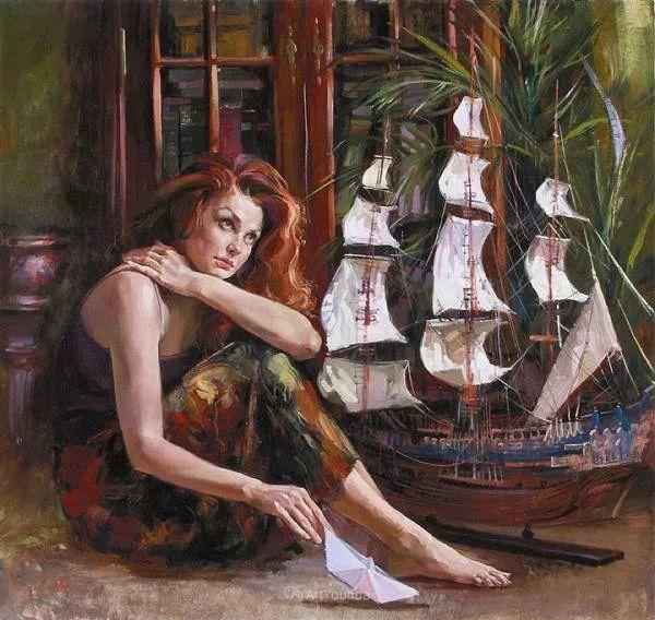西班牙现代艺术家Jordi Diaz Alama油画欣赏插图13