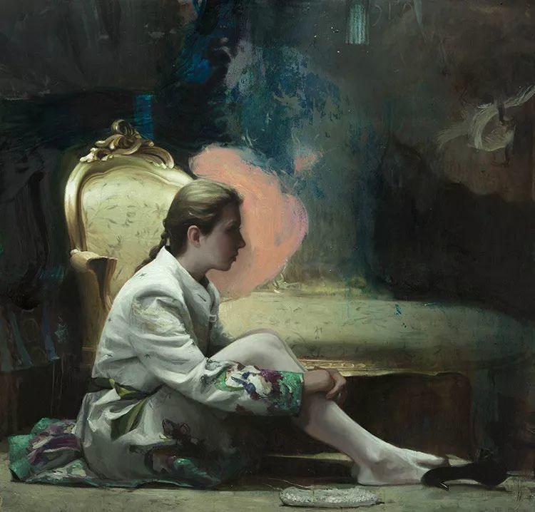 西班牙现代艺术家Jordi Diaz Alama油画欣赏插图27