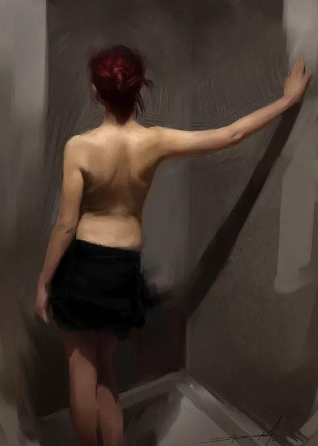 西班牙现代艺术家Jordi Diaz Alama油画欣赏插图29