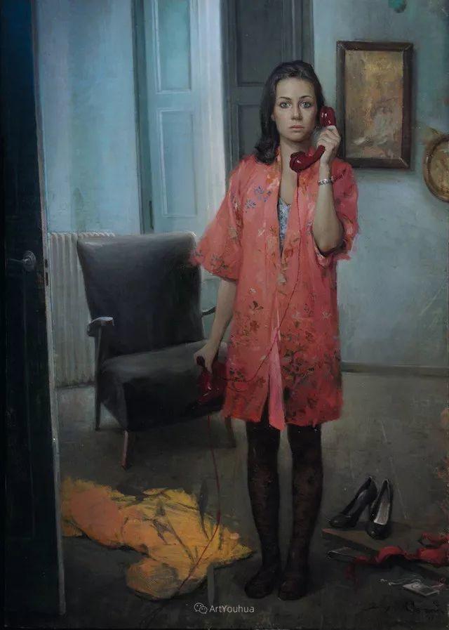 西班牙现代艺术家Jordi Diaz Alama油画欣赏插图31