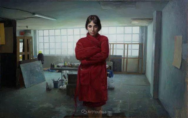 西班牙现代艺术家Jordi Diaz Alama油画欣赏插图39