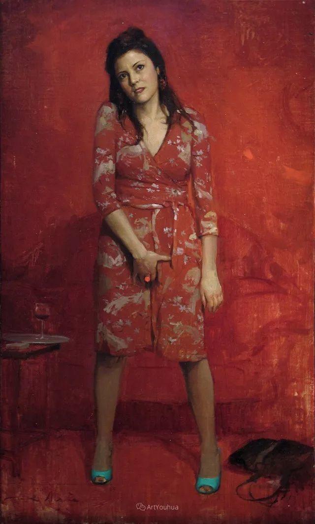 西班牙现代艺术家Jordi Diaz Alama油画欣赏插图41