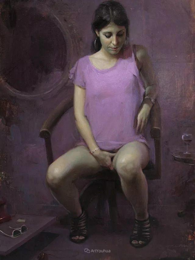 西班牙现代艺术家Jordi Diaz Alama油画欣赏插图49