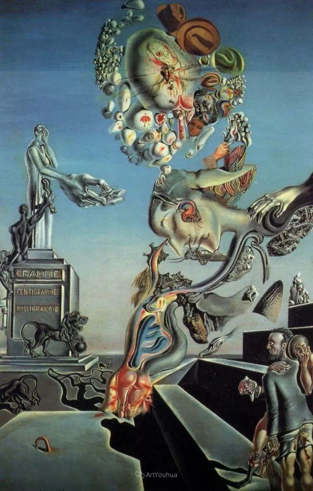 达利:我是天才,所以没有死亡的权利;天才会死,天才的作品不朽插图119