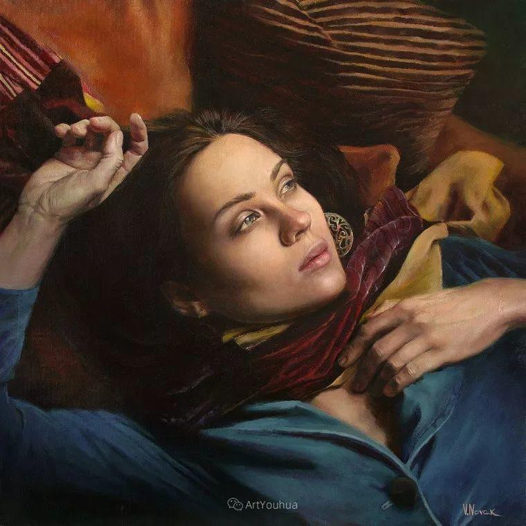 俄罗斯   人美画亦美,现实主义女画家Victoria Novak插图11