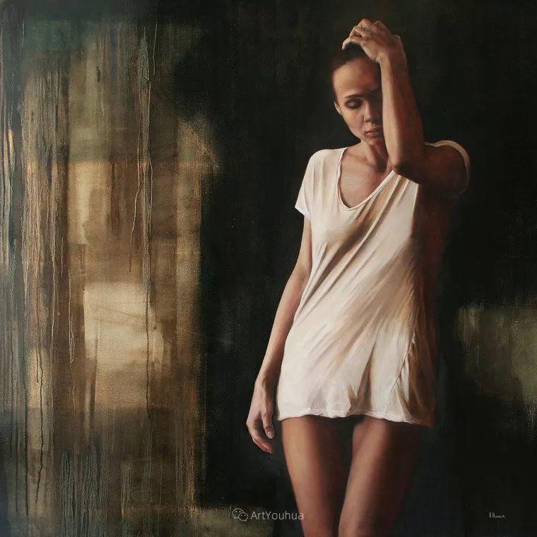 俄罗斯   人美画亦美,现实主义女画家Victoria Novak插图12