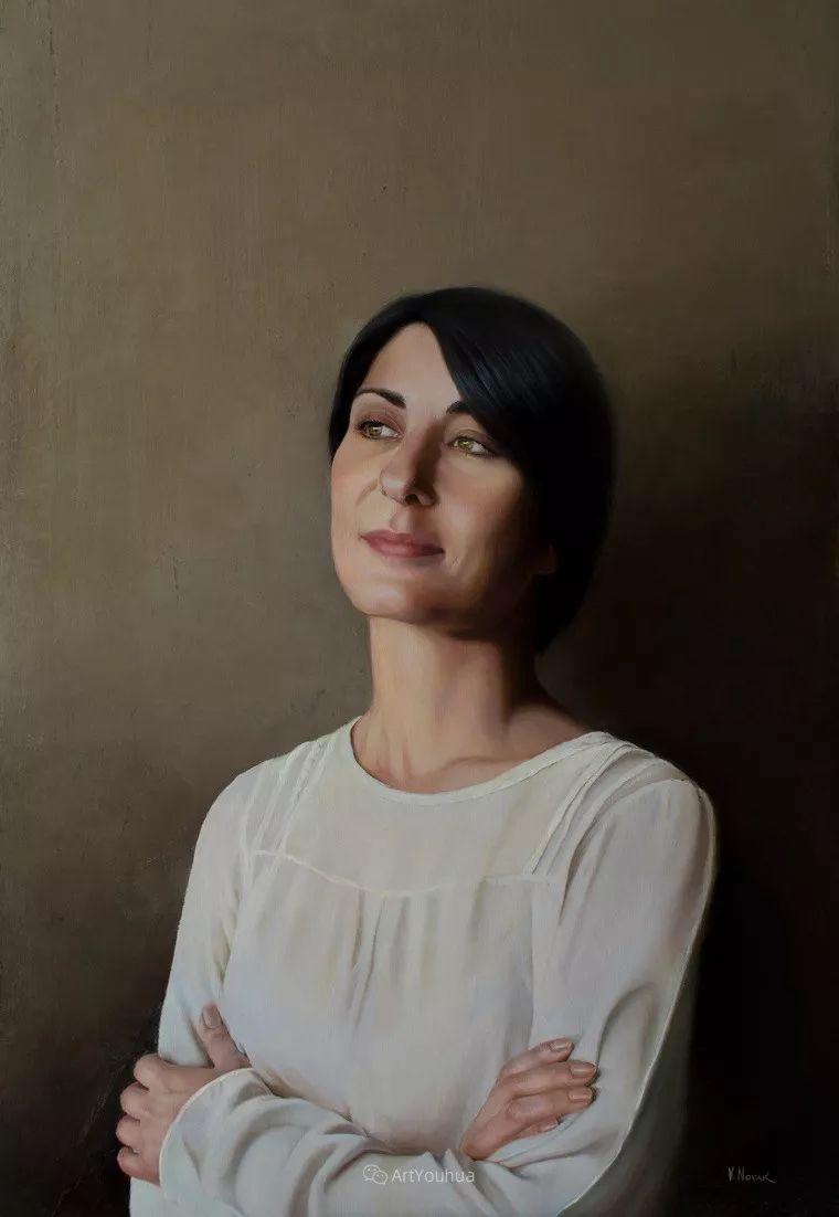 俄罗斯   人美画亦美,现实主义女画家Victoria Novak插图14