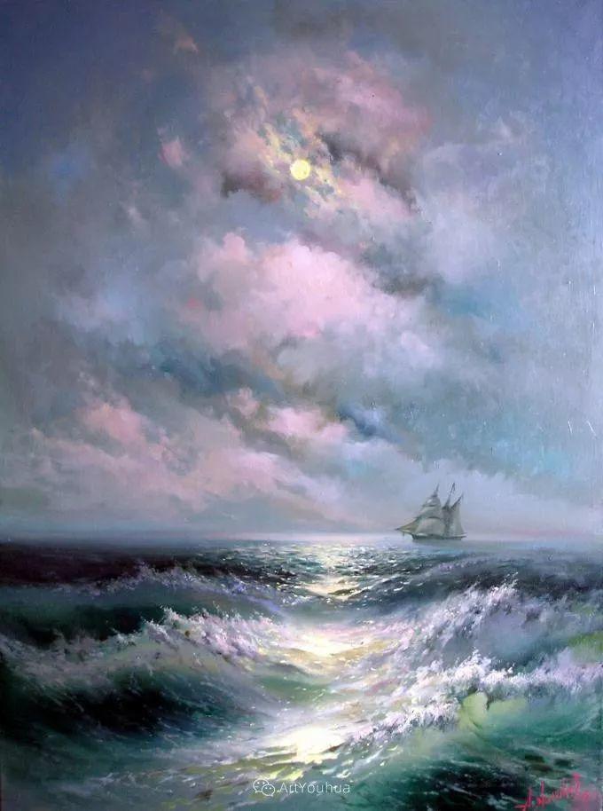 他画笔下的克里米亚海滨,像一位清晨初醒的迷人少女插图3