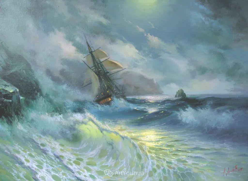 他画笔下的克里米亚海滨,像一位清晨初醒的迷人少女插图6