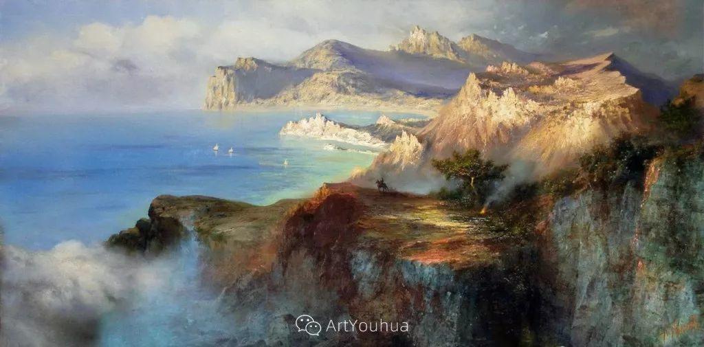 他画笔下的克里米亚海滨,像一位清晨初醒的迷人少女插图15