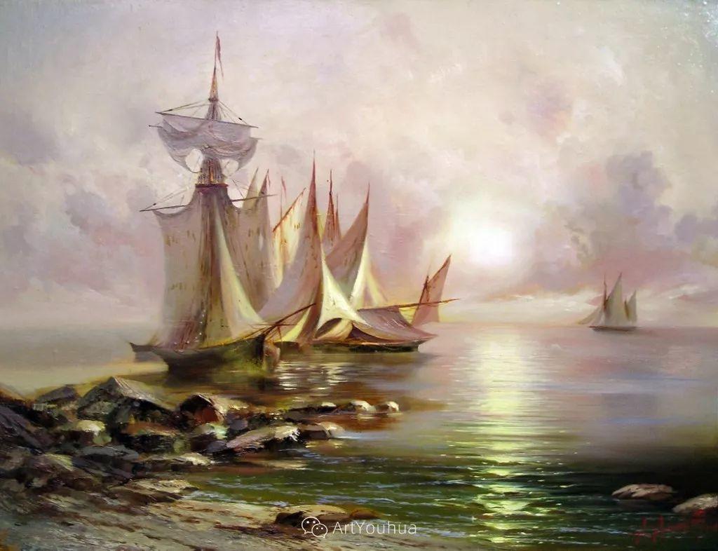 他画笔下的克里米亚海滨,像一位清晨初醒的迷人少女插图11