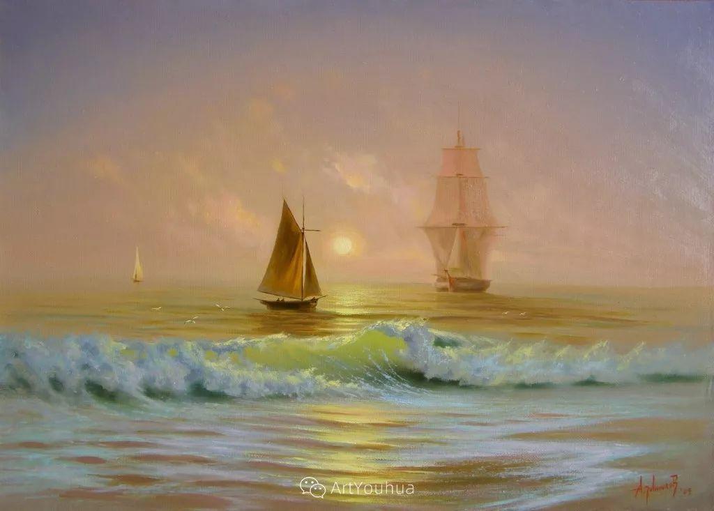 他画笔下的克里米亚海滨,像一位清晨初醒的迷人少女插图27