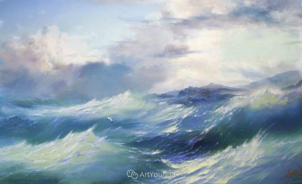 他画笔下的克里米亚海滨,像一位清晨初醒的迷人少女插图17