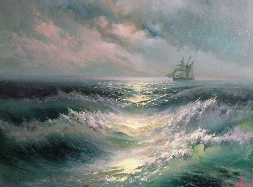 他画笔下的克里米亚海滨,像一位清晨初醒的迷人少女插图37
