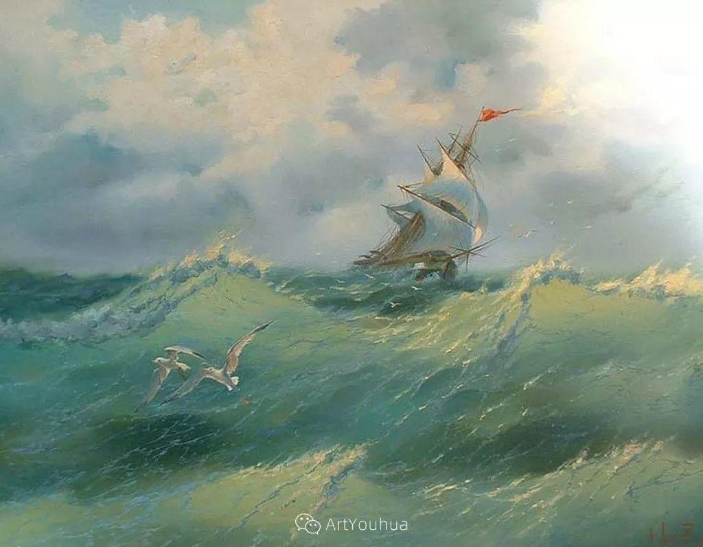 他画笔下的克里米亚海滨,像一位清晨初醒的迷人少女插图39