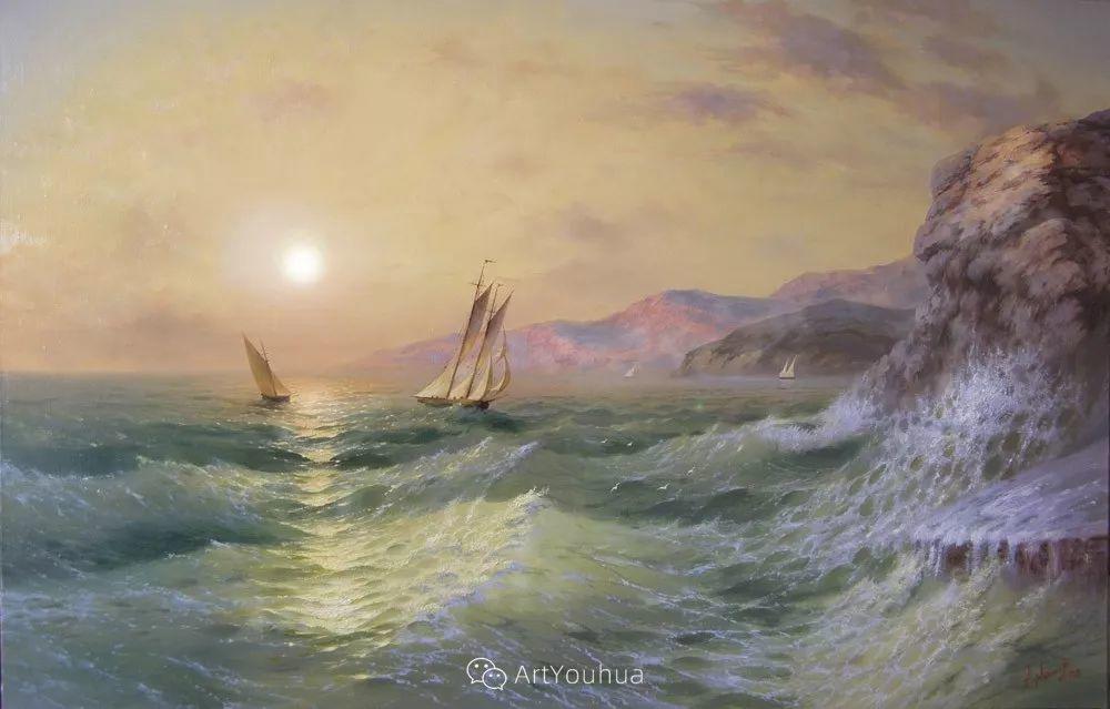 他画笔下的克里米亚海滨,像一位清晨初醒的迷人少女插图41
