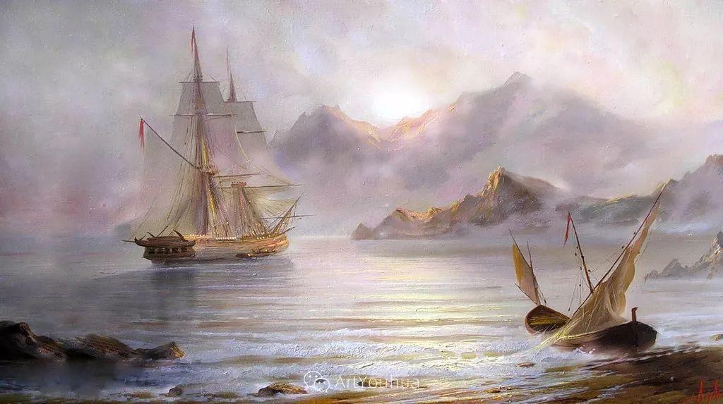 他画笔下的克里米亚海滨,像一位清晨初醒的迷人少女插图45