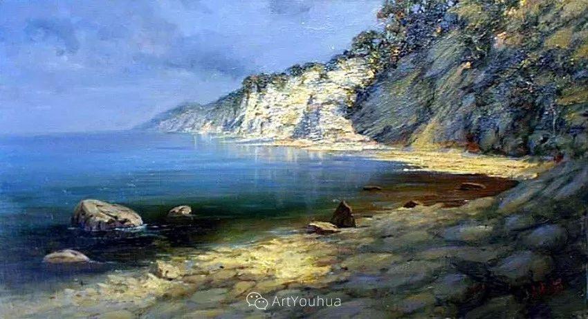 他画笔下的克里米亚海滨,像一位清晨初醒的迷人少女插图55