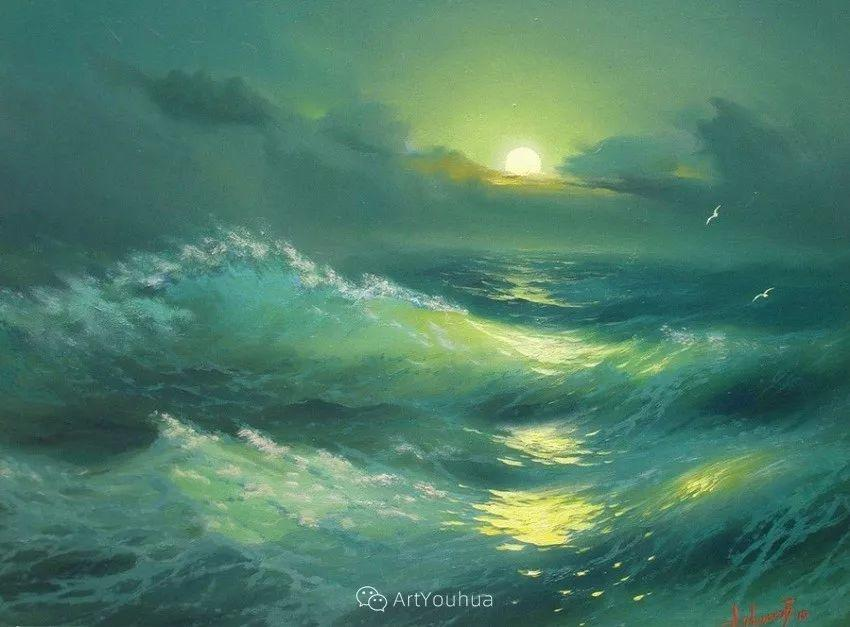 他画笔下的克里米亚海滨,像一位清晨初醒的迷人少女插图57