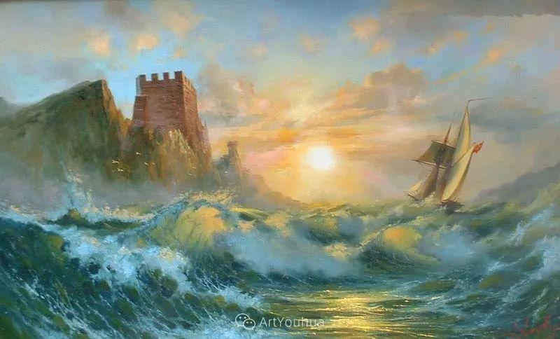 他画笔下的克里米亚海滨,像一位清晨初醒的迷人少女插图30