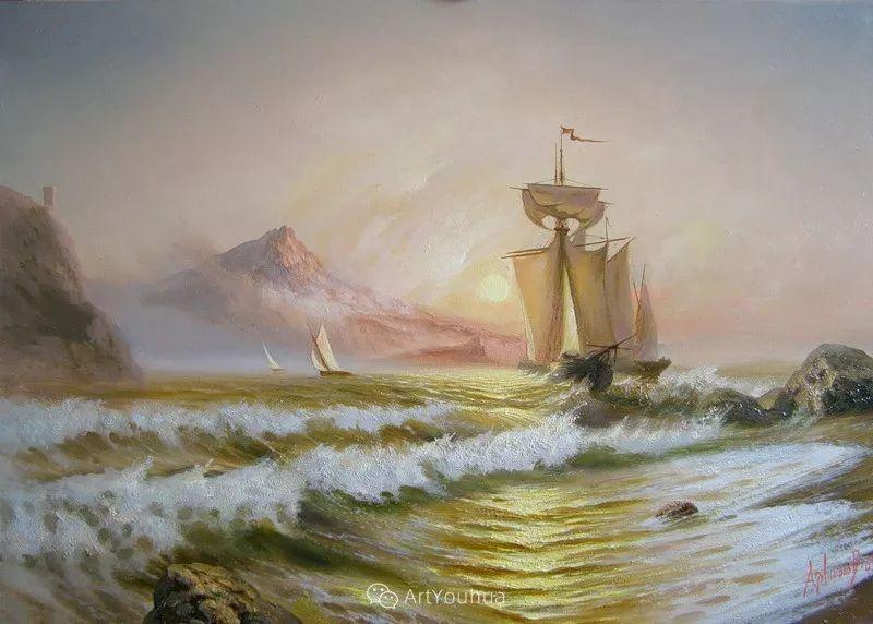 他画笔下的克里米亚海滨,像一位清晨初醒的迷人少女插图63