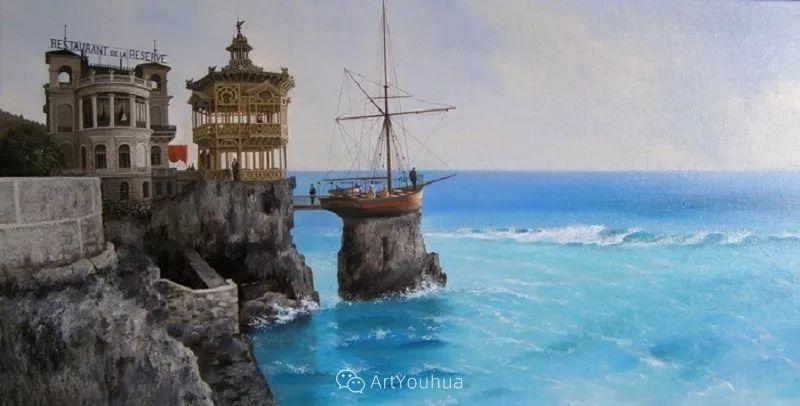 他画笔下的克里米亚海滨,像一位清晨初醒的迷人少女插图32