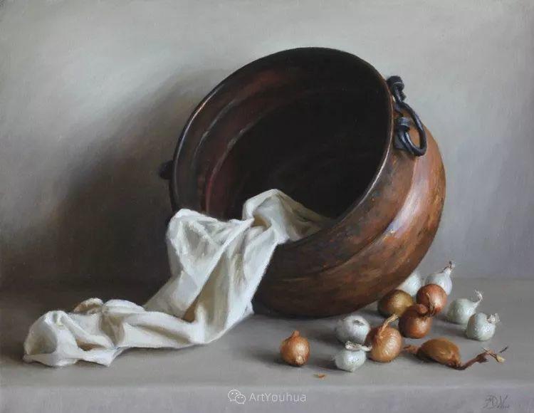 写实静物油画 美国画家迈克尔·德沃尔插图15
