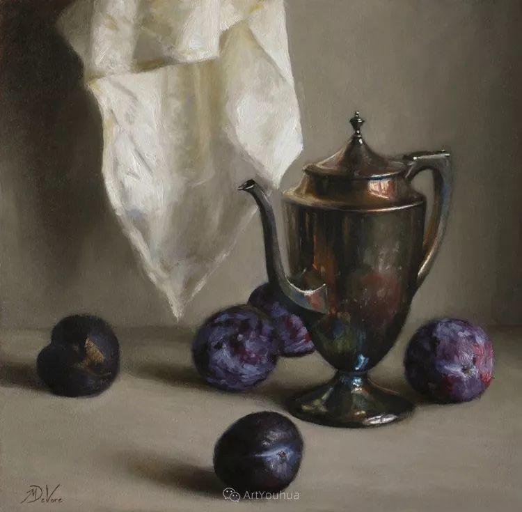 写实静物油画 美国画家迈克尔·德沃尔插图19