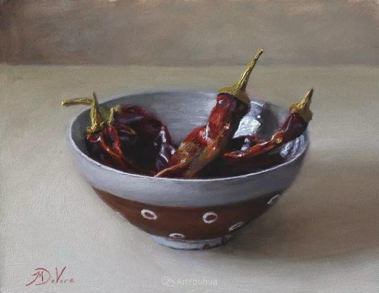 写实静物油画 美国画家迈克尔·德沃尔插图43