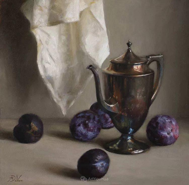 写实静物油画 美国画家迈克尔·德沃尔插图87
