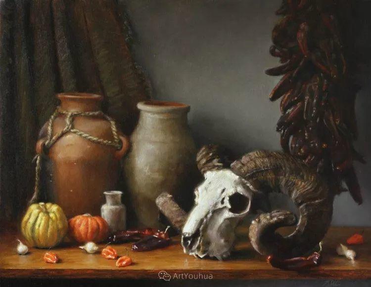 写实静物油画 美国画家迈克尔·德沃尔插图91
