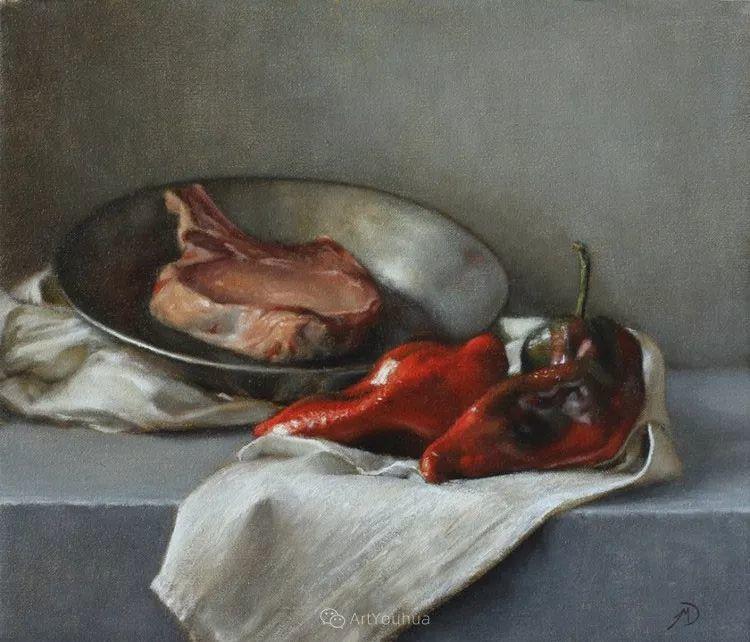 写实静物油画 美国画家迈克尔·德沃尔插图93