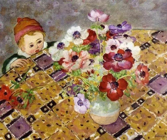 强调色彩互补,法国后印象派画家勒巴斯克插图15