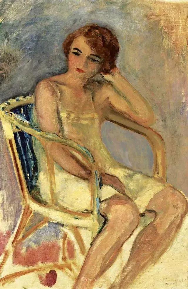 强调色彩互补,法国后印象派画家勒巴斯克插图38
