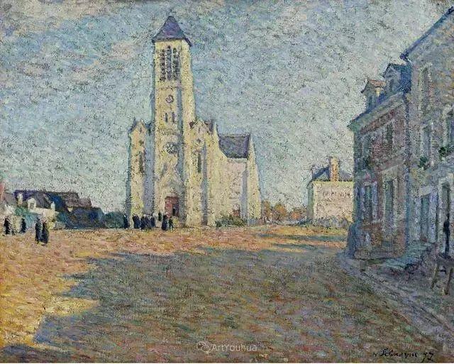 强调色彩互补,法国后印象派画家勒巴斯克插图46