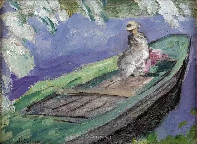 强调色彩互补,法国后印象派画家勒巴斯克插图47