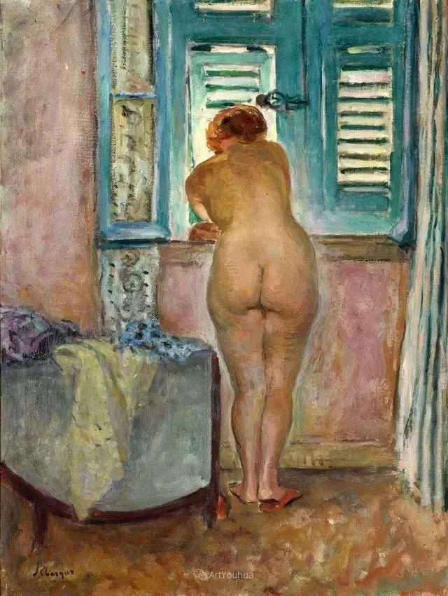 强调色彩互补,法国后印象派画家勒巴斯克插图49
