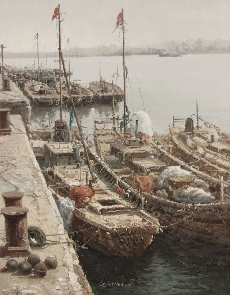 船舶油画——黄劲松作品欣赏插图18