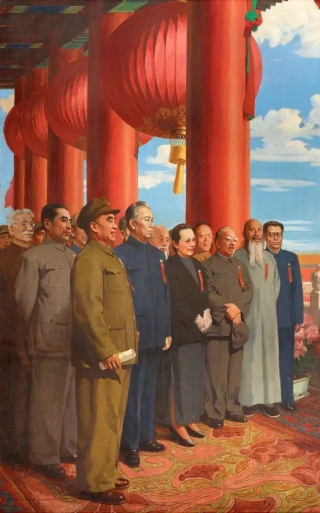 《开国大典》油画,背后故事鲜为人知插图13