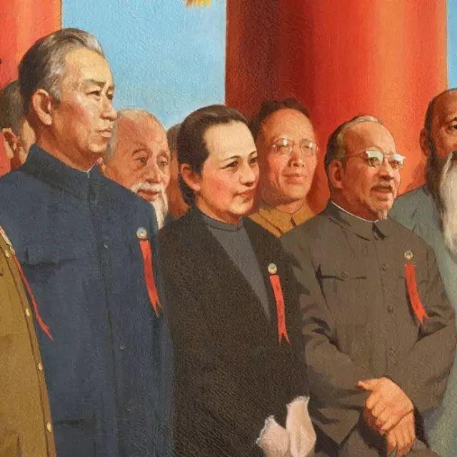 《开国大典》油画,背后故事鲜为人知插图19