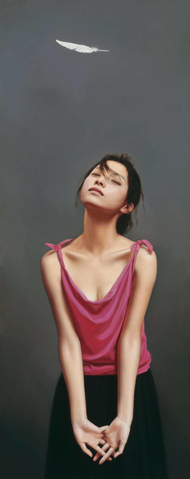 35年专注画青春美少女,最贵画作卖708万插图7