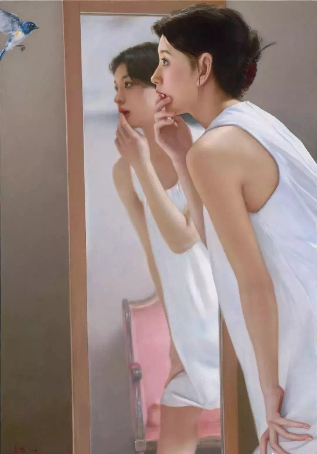 35年专注画青春美少女,最贵画作卖708万插图9