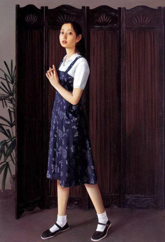 35年专注画青春美少女,最贵画作卖708万插图17