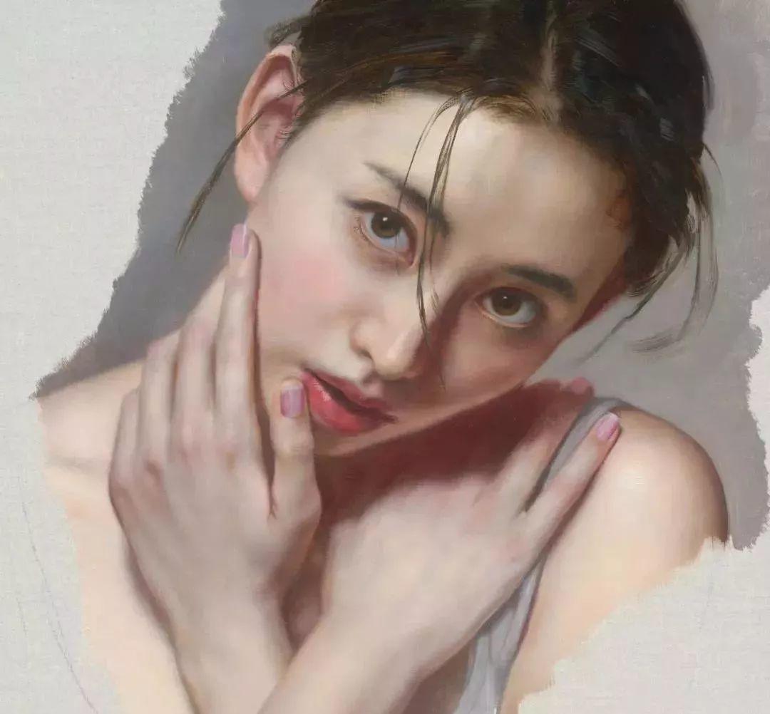 35年专注画青春美少女,最贵画作卖708万插图19
