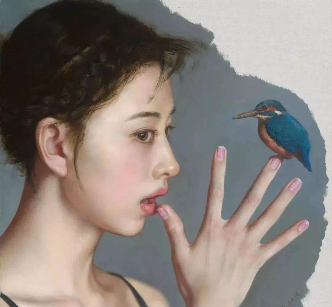 35年专注画青春美少女,最贵画作卖708万插图21
